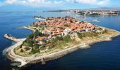 Nessebar from above