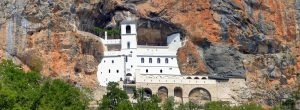 Be amaze of the Ostrog monastery site