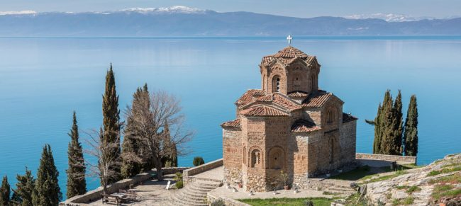 Ohrid Lake Church