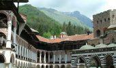 Rila Monastery Inner Yard
