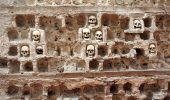 Skull tower Nis Serbia