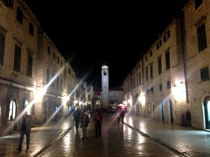 Dubrovnik night life and culture