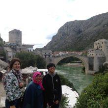 See the Mostar bridge architecture