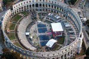 See and explore the enigma of amphitheater in Pula