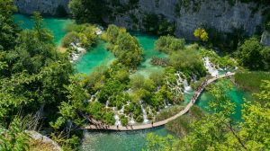Spend a day at plitvice lakes and its area