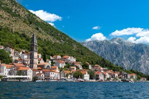 Visiting the old city of Kotor and its harbour