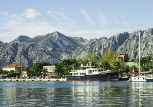 View and explore the vistas of Kotor Harbour