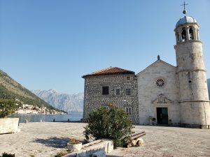 Enjoy the scenery while taking a trip into history of Kotor bay