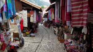 Trek through Kruje cultural bazar