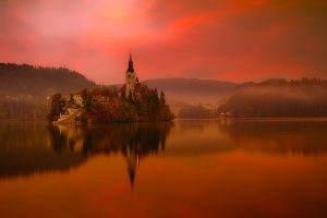 See and be amazed by lake Bled in Slovenia