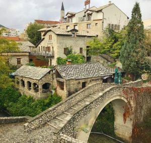 Tour day through old town of Mostar