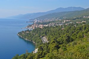 Find and see the vistas of Opatija