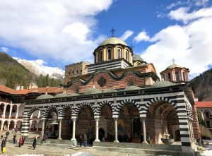 Learning about the Rila monastery and exploring