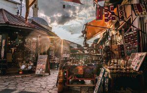 Explore tha famous market in Sarajevo