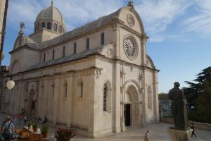 Seeing the architecture in Sibenik