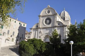 See and explore the architecture of Sibenik