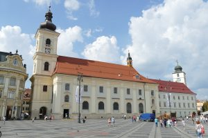 Exploring the urban parts of Sibiu