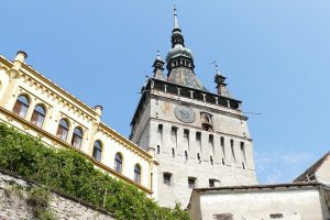 See all Sighisoara from the clock tower