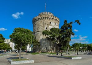 Spendingf the day in Thessaloniki