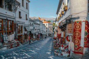 Explore the old town of Gjirokastër