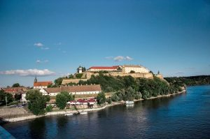 Enjoying times near Petrovaradin fortress